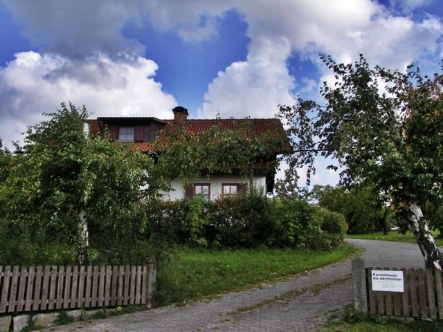 Rhönferienhaus Link - Zufahrt