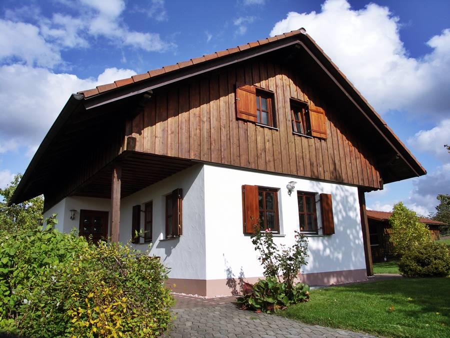 Rhönferienhaus Link - Eingang