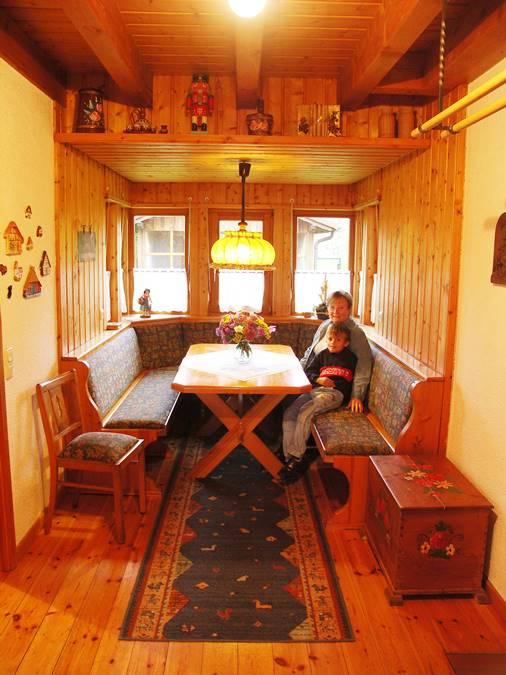 Rhönferienhaus Link - Sitzecke