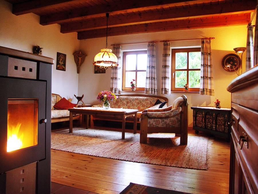Rhönferienhaus Link - Ofen
