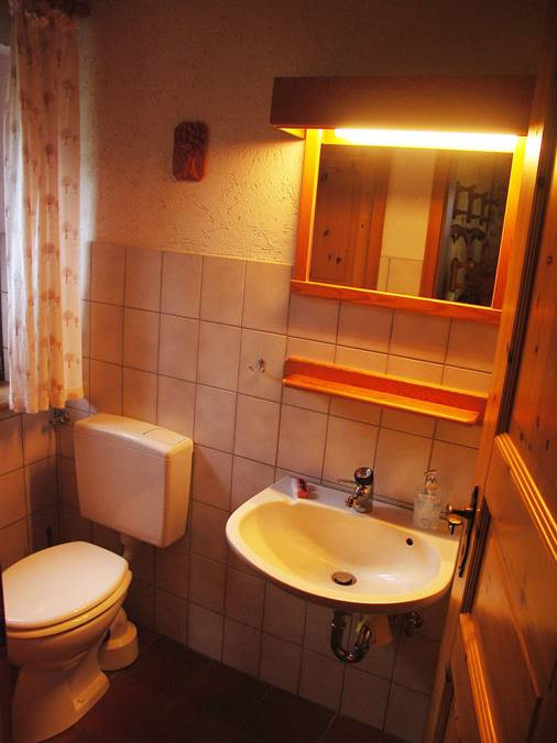Rhönferienhaus Link - WC
