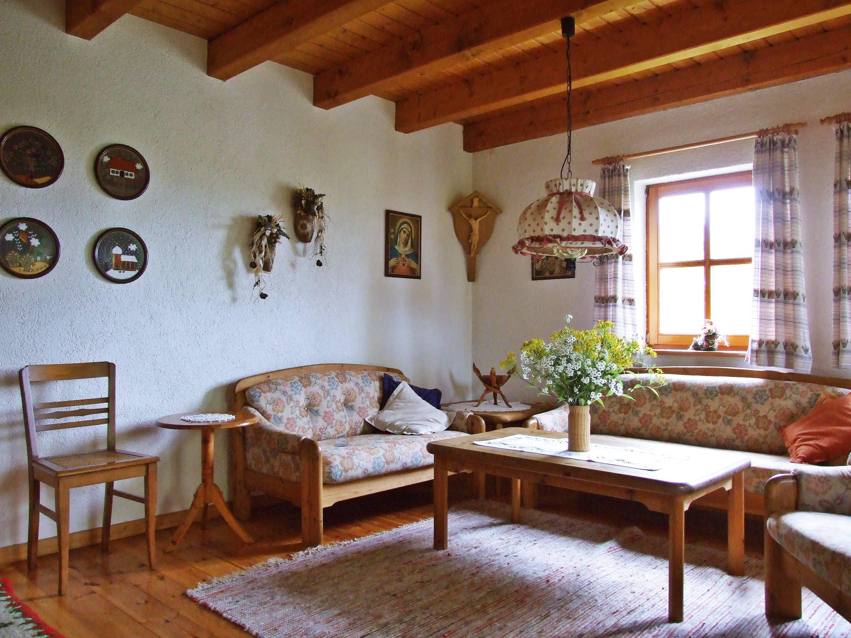 Rhönferienhaus Link - Wohnzimmer