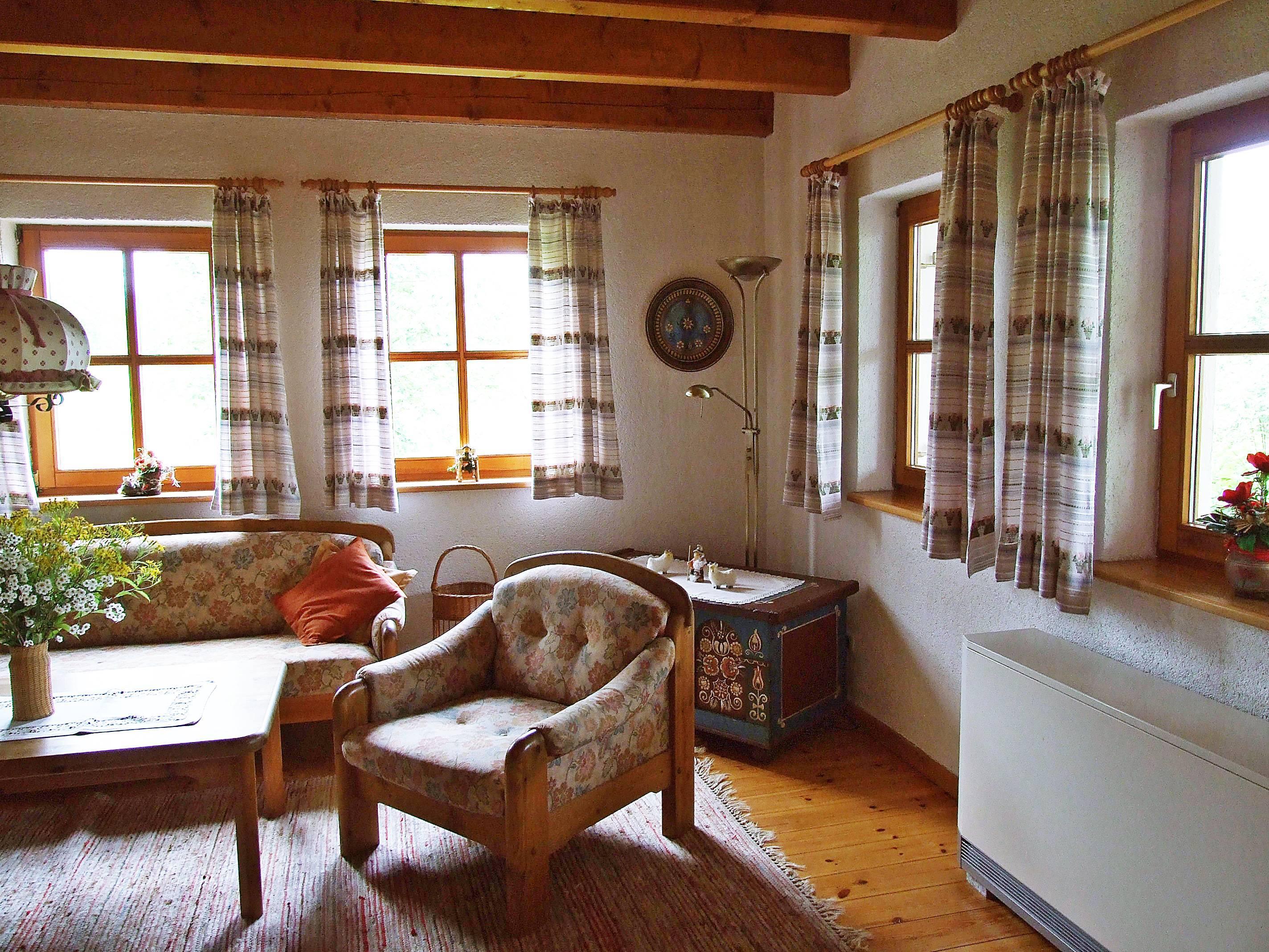 Rhönferienhaus Link -Wohnzimmer